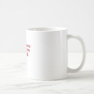Caneca De Café Os terapeutas respiratórios sugam