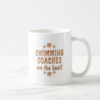 Caneca De Café Os treinadores da natação são o melhor