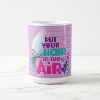 Caneca De Café Os troll | pôr seu cabelo no ar