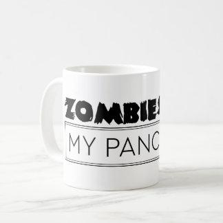 Caneca De Café Os zombis comem meu pâncreas - citações engraçadas