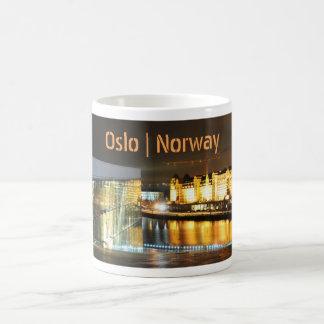 Caneca De Café Oslo, Noruega na noite