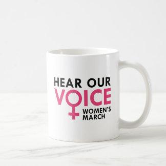Caneca De Café Ouça nossa voz