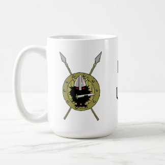Caneca De Café Ouriços de Viking!!