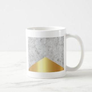 Caneca De Café Ouro concreto #372 da seta