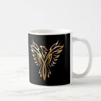 Caneca De Café Ouro legal personalizado Phoenix