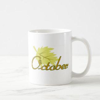 Caneca De Café Outubro