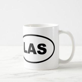 Caneca De Café Oval de LAS Las Vegas