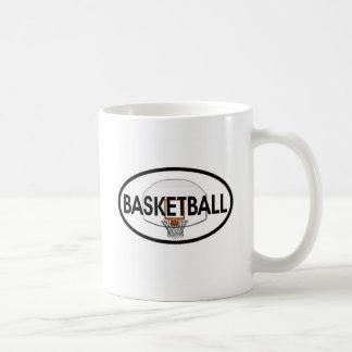Caneca De Café Oval do basquetebol