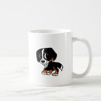 Caneca De Café oxidação dos desenhos animados do cão de montanha