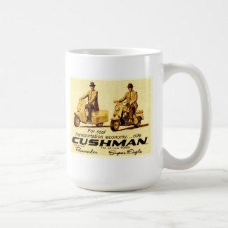Caneca De Café Pacemaker de Cushman e patinetes super da águia