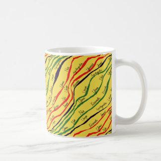 Caneca De Café Padrões de Kwanzaa