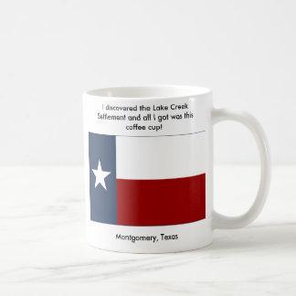 Caneca De Café Pagamento da angra do lago - Montgomery, Texas