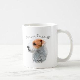 Caneca De Café Pai 2 de Russell Terrier do Parson