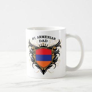 Caneca De Café Pai arménio do número um