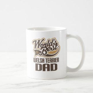 Caneca De Café Pai de galês Terrier (mundos melhores)