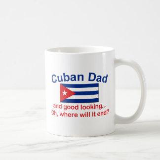 Caneca De Café Pai do cubano de Gd Lkg