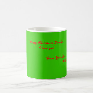 Caneca De Café Pai do Feliz Natal, eu te amo               …