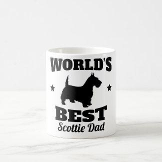 Caneca De Café Pai do Scottie dos mundos o melhor