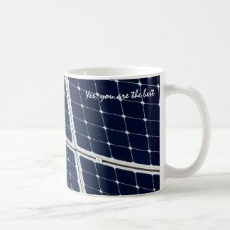 Caneca De Café Painel de energias solares