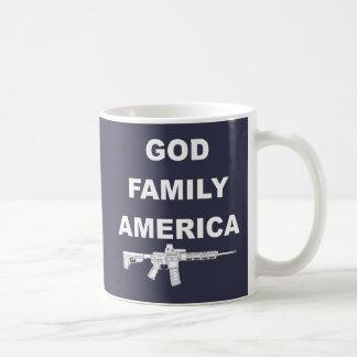 Caneca De Café País da família do deus
