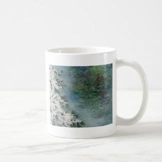 Caneca De Café País das maravilhas do inverno