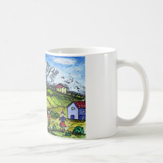 Caneca De Café País de Heidi
