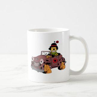 Caneca De Café Palhaço no carro
