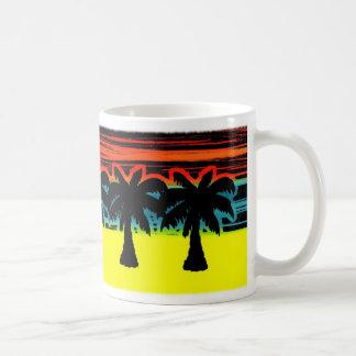 Caneca De Café palmeiras
