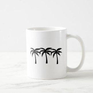 Caneca De Café Palmeiras tropicais