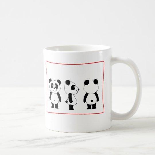 Caneca De Café panda