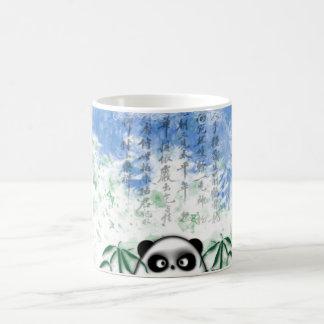 Caneca De Café panda escondida