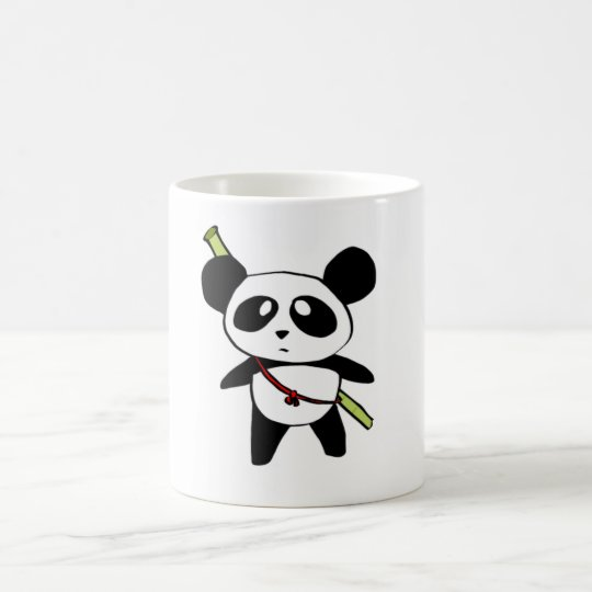 Caneca De Café Panda with bambu stick - by MyPanda