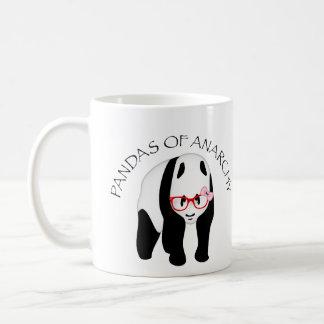 Caneca De Café Pandas da anarquia