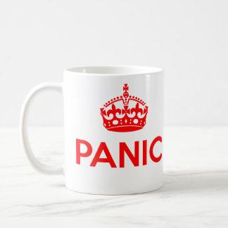 Caneca De Café PÂNICO: Mantenha calmo e continue a paródia