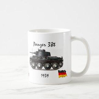 Caneca De Café Panzer 38t - Tanque de WW II