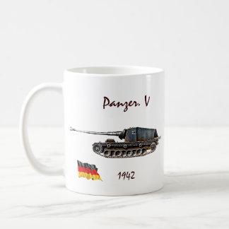 Caneca De Café Panzer. V tanque - WW II