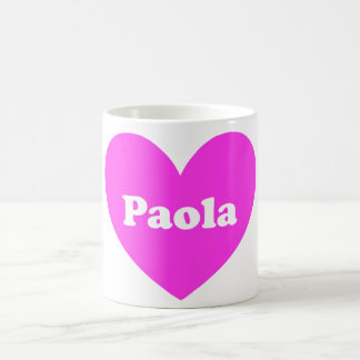 Caneca De Café Paola