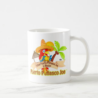 Caneca De Café Papagaio de Puerto Penasco México