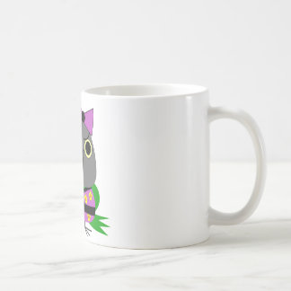 Caneca De Café papagaio de Senegal do ネズミガシラハネナガインコオウム no quimono