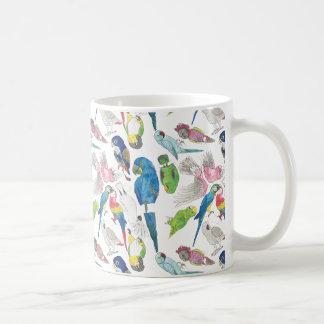 Caneca De Café Papagaios e 'Toos