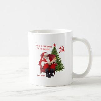 Caneca De Café Papai noel de Karl Marx