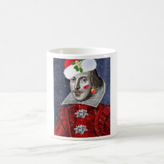 Caneca De Café Papai noel Shakespeare
