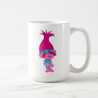 Caneca De Café Papoila dos troll | - cabelo a permanecer!
