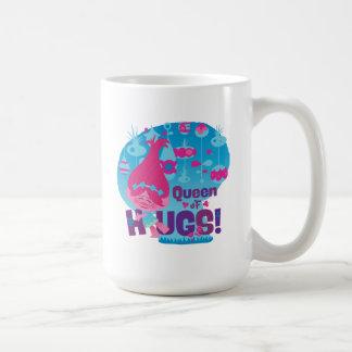 Caneca De Café Papoila dos troll | - rainha dos abraços!