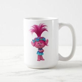 Caneca De Café Papoila dos troll | - rainha dos troll