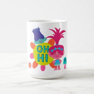 Caneca De Café Papoila & ramo dos troll | - oh olá! lá
