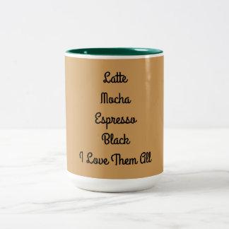 Caneca de café para amantes do café