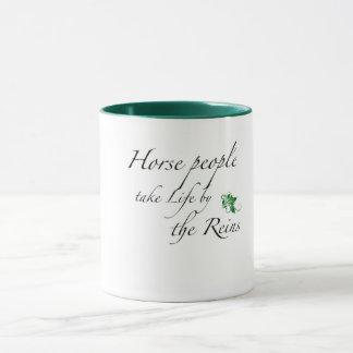 Caneca de café para o amante do cavalo em sua vida