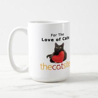 Caneca De Café Para o amor dos gatos