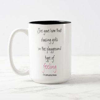 Caneca de café para seu sentimento de perseguição